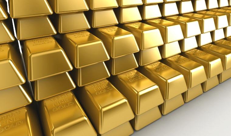 Sztabki złota - zdjęcie znalezione na stronie Tapetyczne.pl