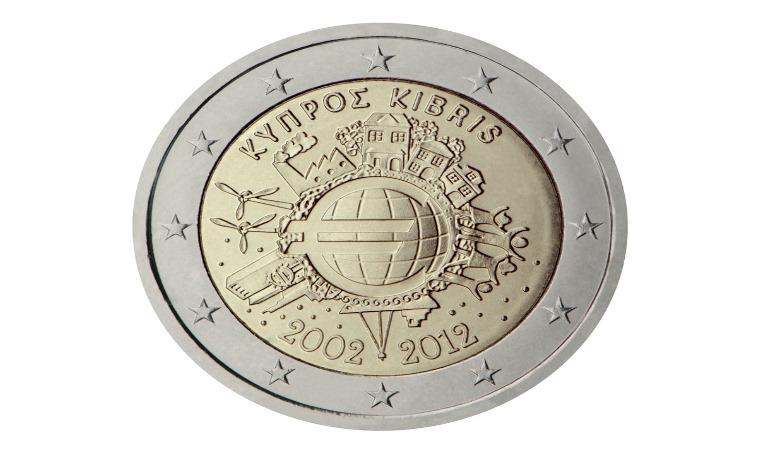2 Euro Cypr - zdjęcie znalezione na stronie Baimon.pl