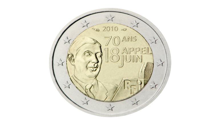 2 Euro Francja 2010 - zdjęcie znalezione na stronie Ecb.europa.eu